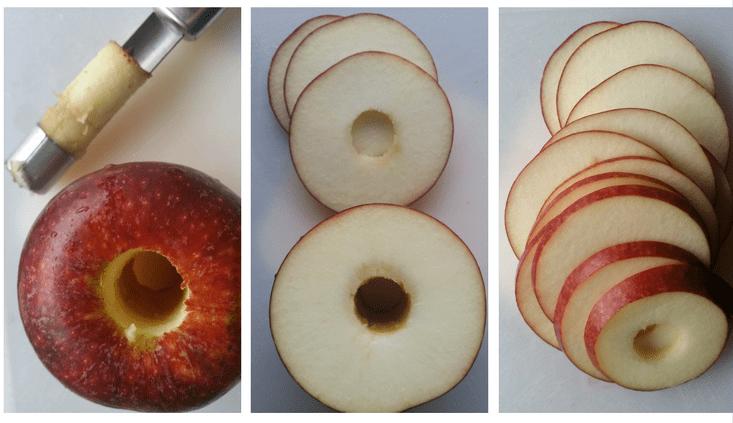 Ingrid Marie apples - slices for chips
