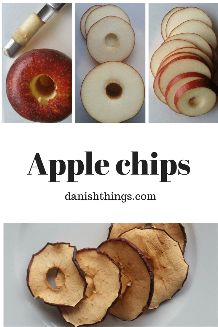 Ingrid Marie apples - slices and chips