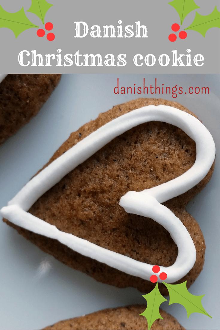 Danish Christmas cookie - honey cookie © danishthings.com