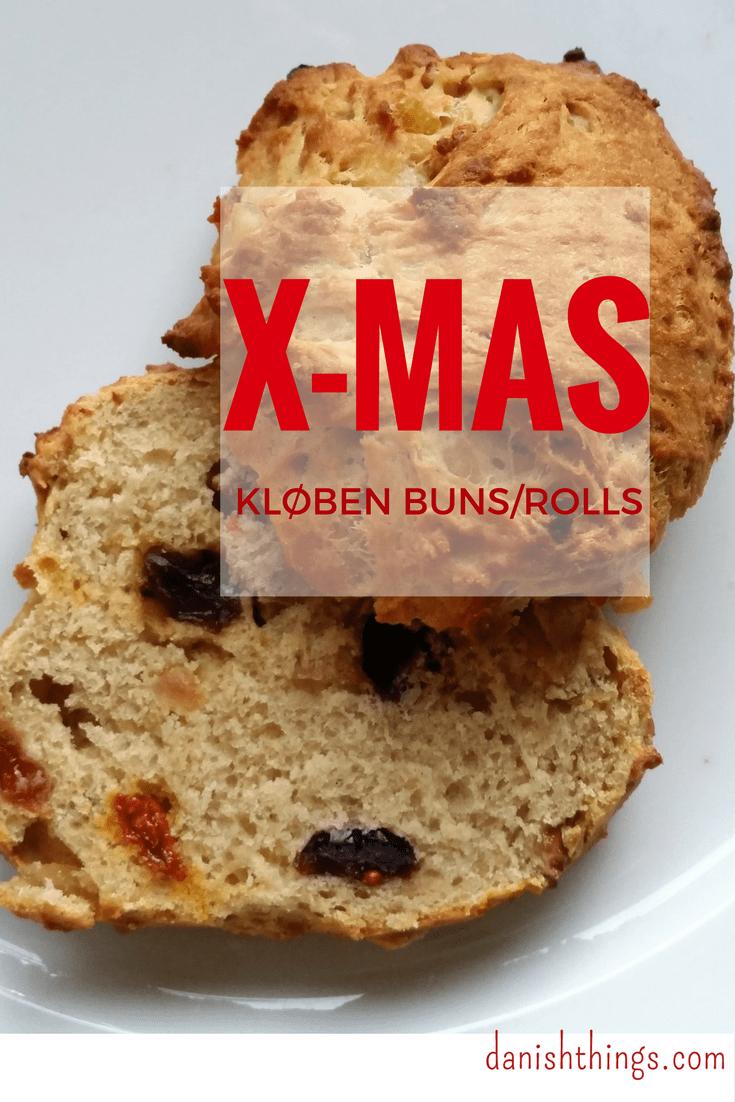 Kløben Christmas buns/rolls @ danishthings.com