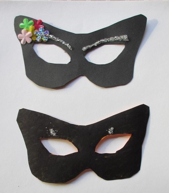 Masker fra Marie og Magne