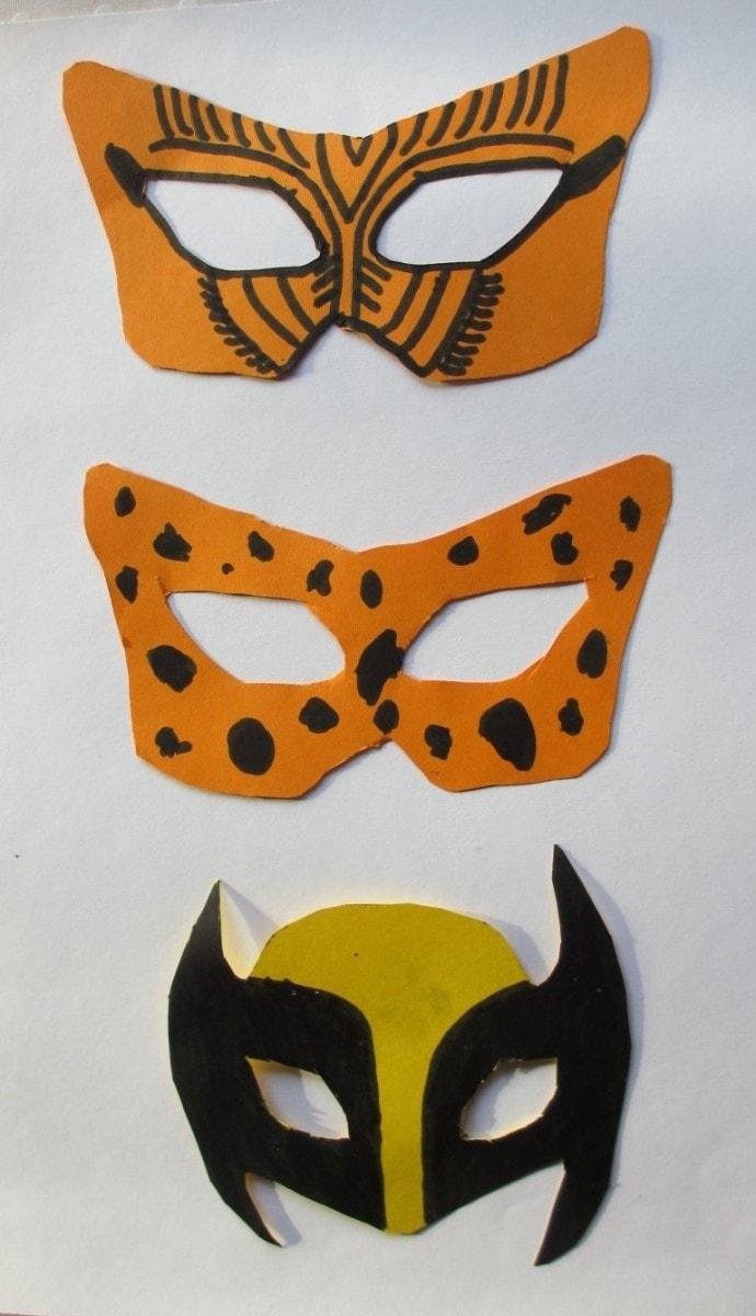 Masker fra Christian og Magne