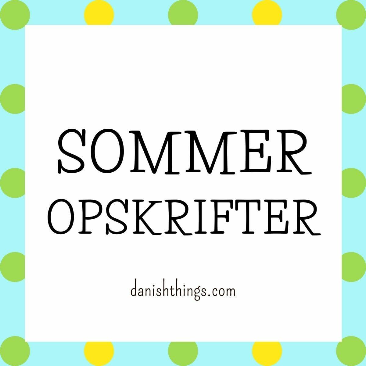 Find opskrifter, gratis print og inspiration til årets gang på danishthings.com #DanishThings #spisnaturen #sommer #spissommeren #blomster #rabarber #lavendel #gran #hyldeblomst #is #hindbær #kager #desserter